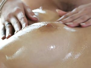 Young Beauties And A Big Dick Have A Massage Threesome