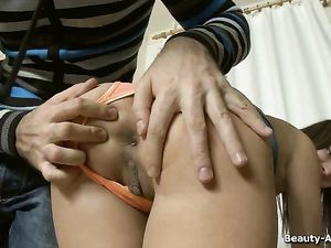 Giving His GF Jewelry And Taking Her Tight Ass
