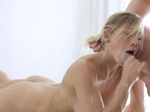 Great Doggystyle With A Hot Body Blonde Girl