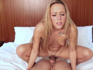 Doing Porn Makes This Cute Teen Girl So Happy