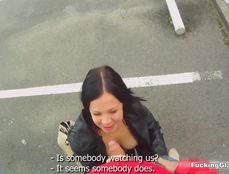 Public Fondling And POV Fucking Of A Sexy Girl