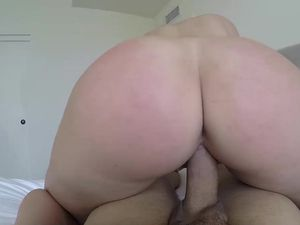 Curvy Cutie Is An Amazing Cock Rider