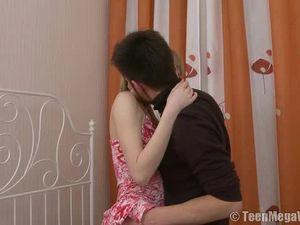 Stunning Big Titties On His Hardcore Teen Girlfriend