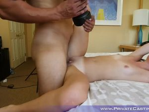 Tattooed Teen Fingered Before Fucking In Doggy Style