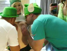 Wild Drunken Orgy To Celebrate St Patricks Day