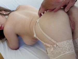 Perfection In Lingerie Makes Love In Doggystyle