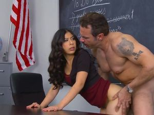 Blowing And Banging The Teacher Is Such Fun