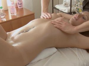 Gorgeous Young Body On His Cock Taking Massage Client