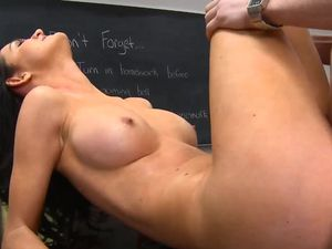 Babe With The Best Body In School Fucks In Class