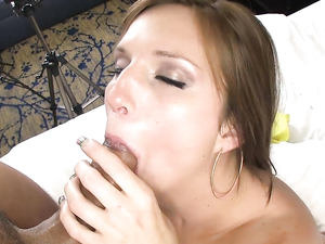 Freckled And Foxy Girl Fucking In A Hotel Room