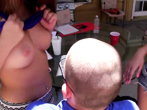 Big Dick Nerd Fucks A Couple Of Hot Chicks