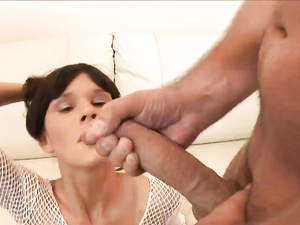 Young Cock Whore In A Miniskirt Wants Anal Sex