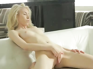 Pure Teen Beauty Masturbates Erotically To Cum Hard